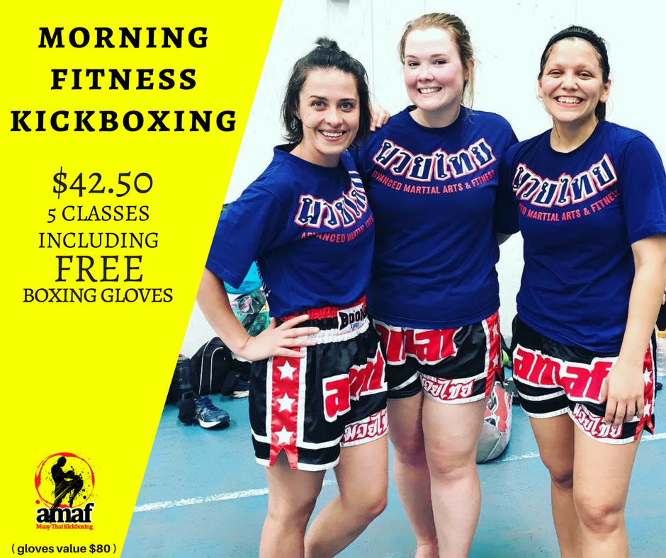 MORNING FITNESS KICKBOXING CLASSES in East Victoria Park - Advanced Martial Arts & Fitness