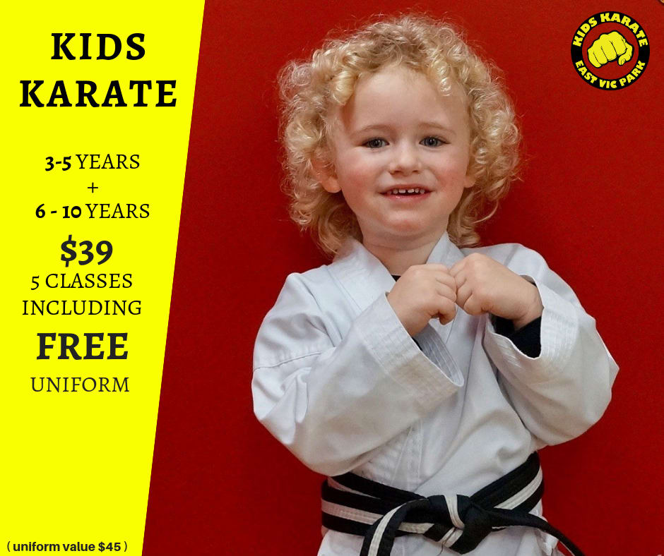 KIDS KARATE - BEGINNERS CLASSES STARTING NOW in East Victoria Park