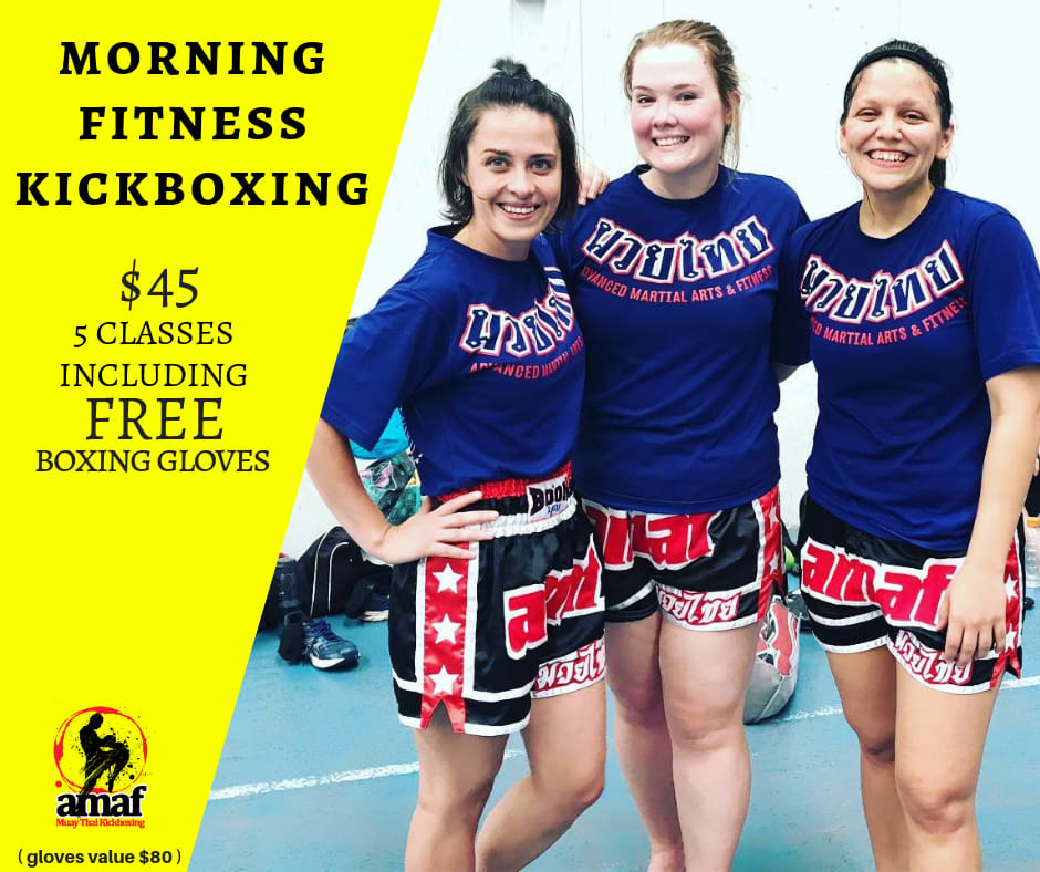 MORNING FITNESS KICKBOXING CLASSES in East Victoria Park