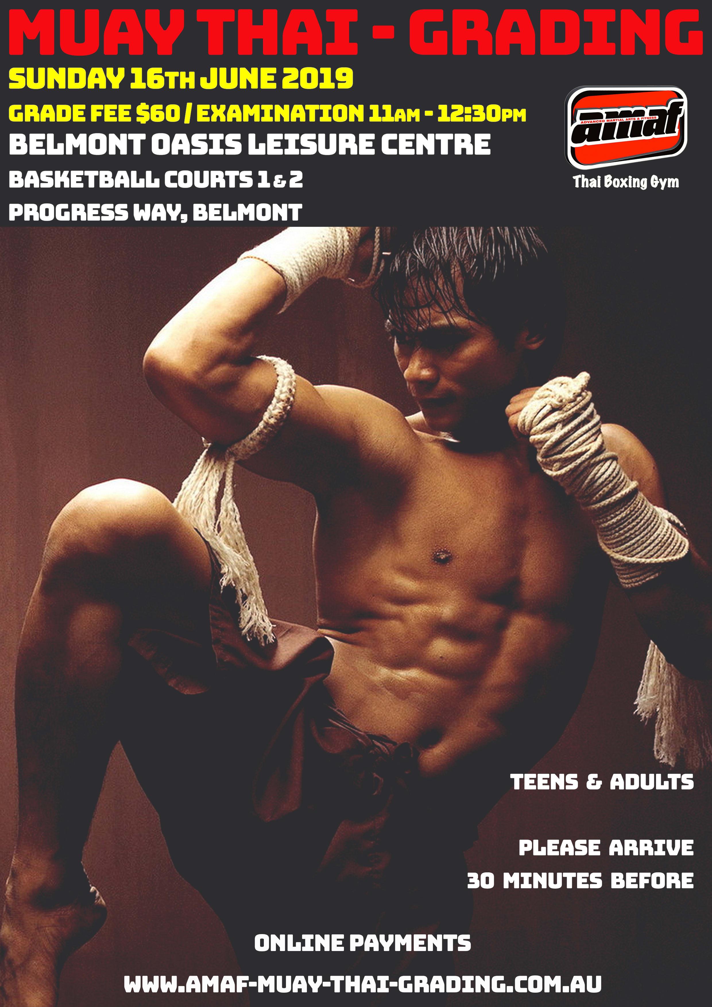 MUAY THAI GRADING in East Victoria Park - Advanced Martial Arts & Fitness