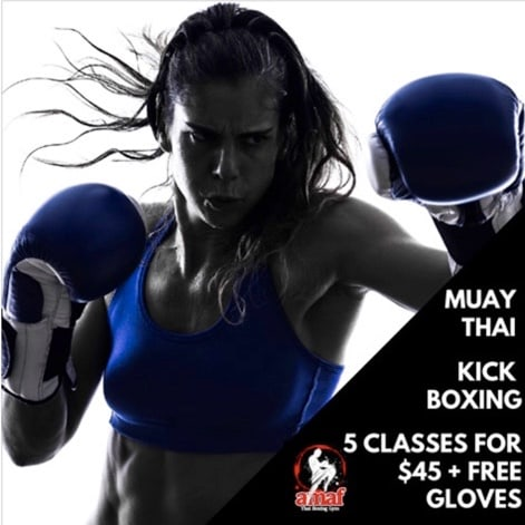 MUAY THAI KICKBOXING CLASSES in East Victoria Park