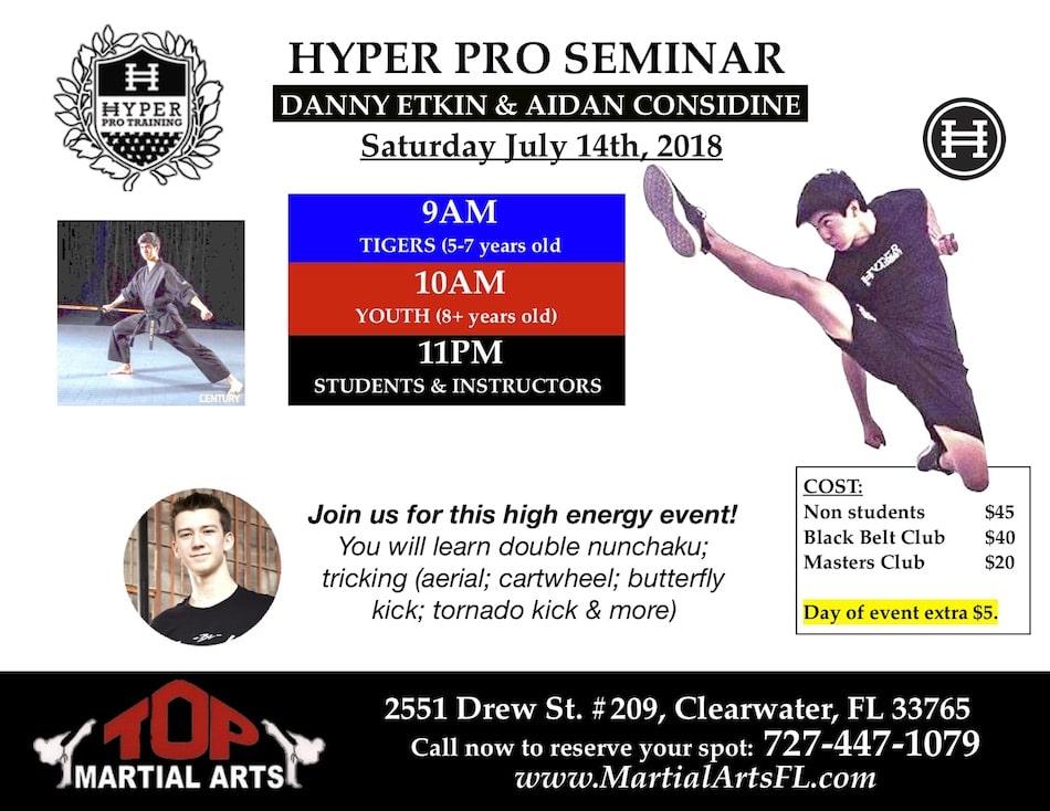 Hyper Proseminar in Clearwater - TOP Martial Arts