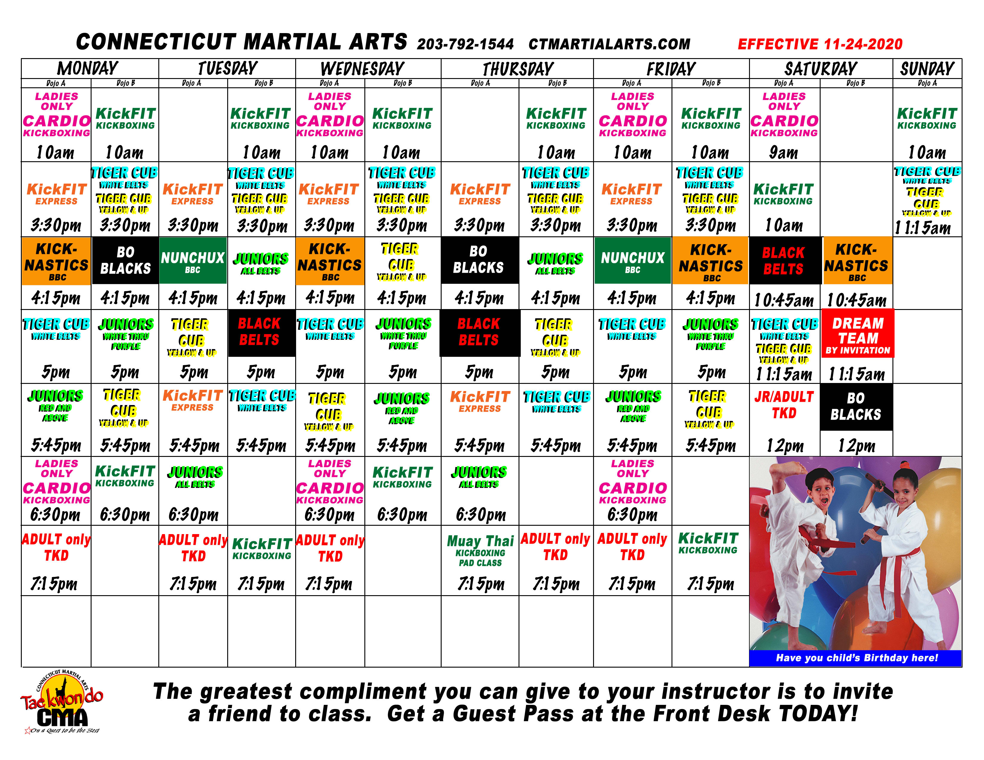 Kids Martial Arts near Danbury
