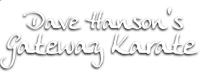 Dave Hanson's Gateway Karate Logo