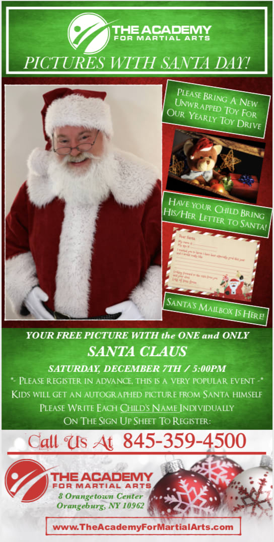 PICTURES WITH SANTA DAY TOY DRIVE EVENT 2019! in Orangeburg