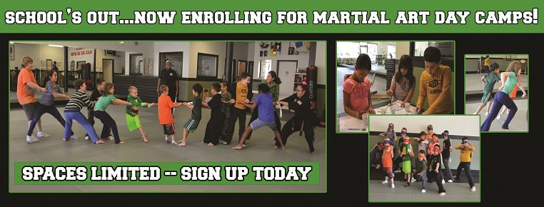 Schools Out - Martial Art Day Camp - 2/10/20 in Woodland