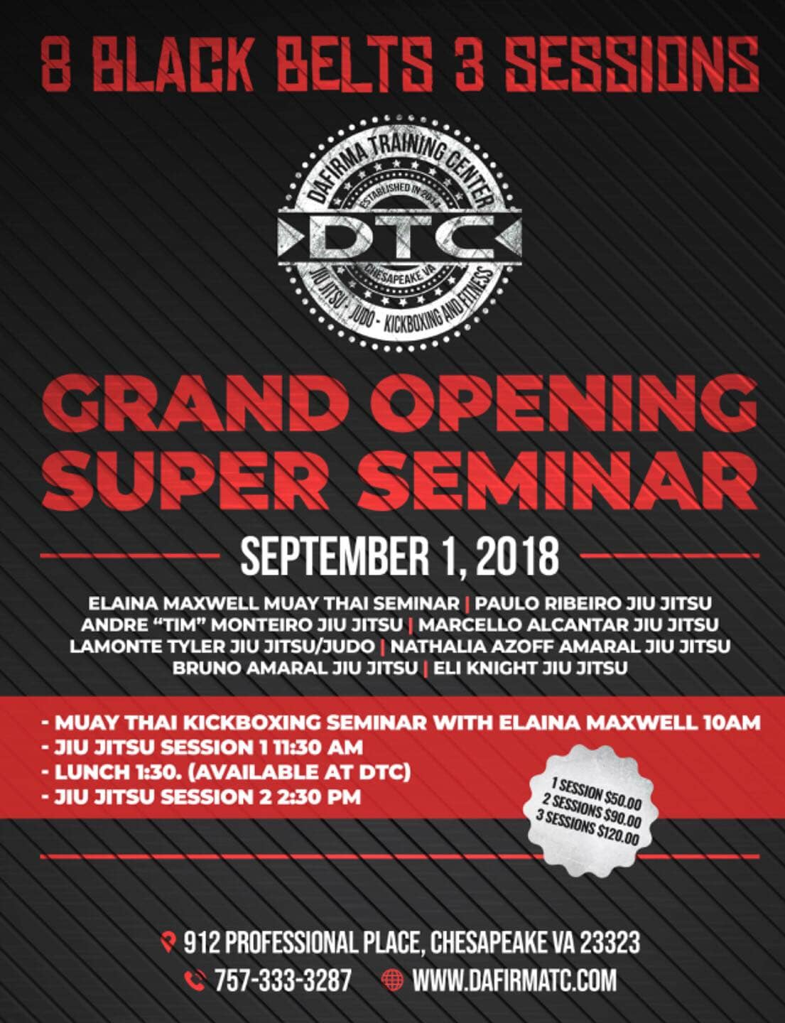 Grand Opening Super Seminar  in Chesapeake - Da Firma Training Center