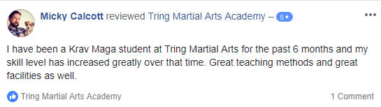 Micky C. , Tring Martial Arts Testimonials