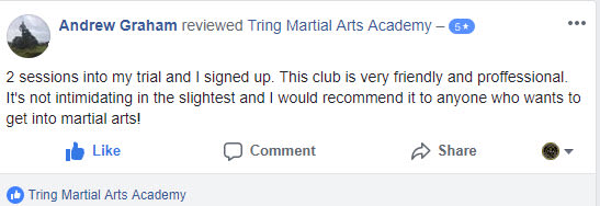 Tring Martial Arts Andrew Graham