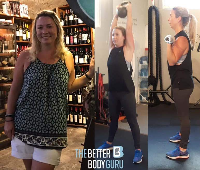 Cathy - July 2018 Client of the Month, The Better Body Guru Testimonials