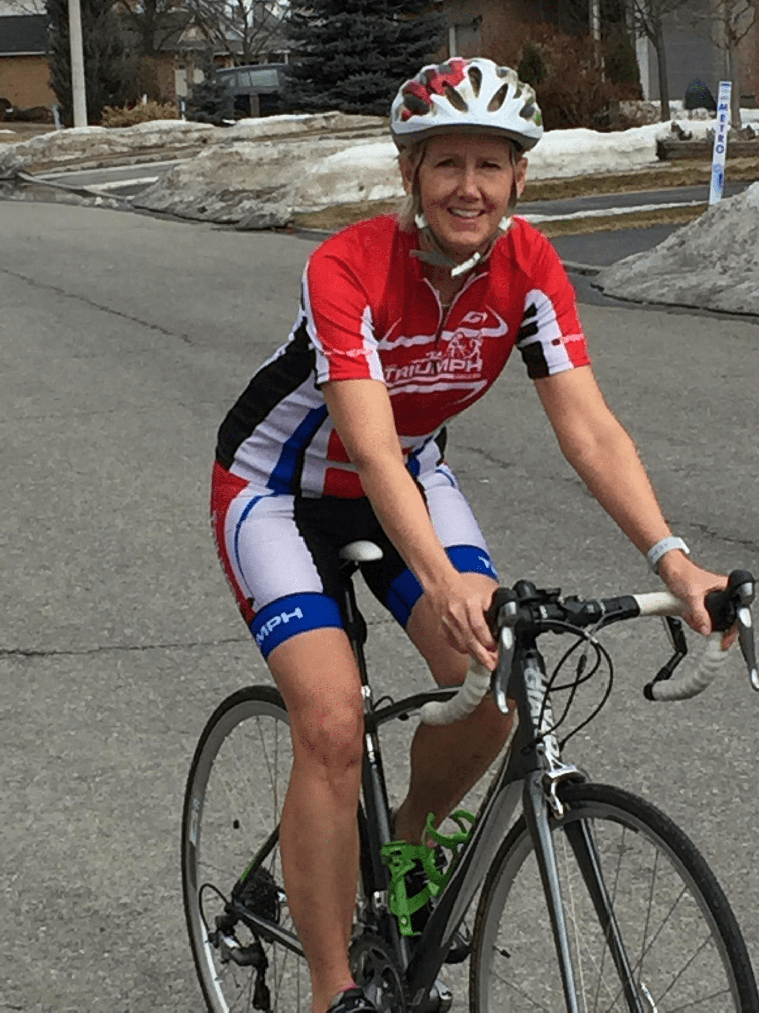 Julie W., Team Triumph Triathlon Club Testimonials