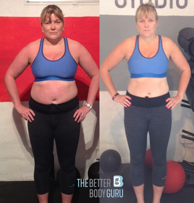 The Better Body Guru October Client of the Month - Victoria Swaysland