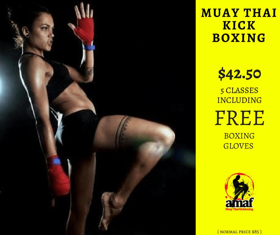 MUAY THAI KICKBOXING CLASSES in East Victoria Park - Advanced Martial Arts & Fitness