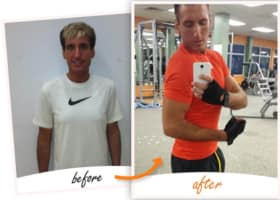 Jason | Gained 10lbs of muscle & lost 9 inches in Watertown - Page Fitness