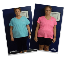 Janet Barnet | Lost 30 lbs | Lost 4.5 inches off waist in Beverly - Spectrum Fitness Consulting
