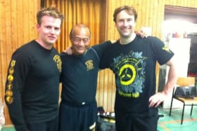 Guro Dan Inosanto in Witham - Laurence Sandum's Black Belt Martial Arts Academy