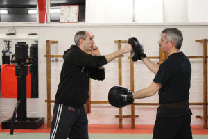 Fitness Kickboxing in Witham - Laurence Sandum's Black Belt Martial Arts Academy