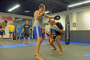 Muay Thai Kickboxing  in Brentwood - Crosley Gracie Jiu-Jitsu