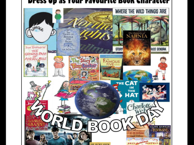 World Book Day 7th March - KickFit Martial Arts School Reading