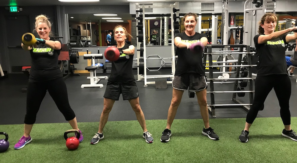 Women's Fitness near Redding