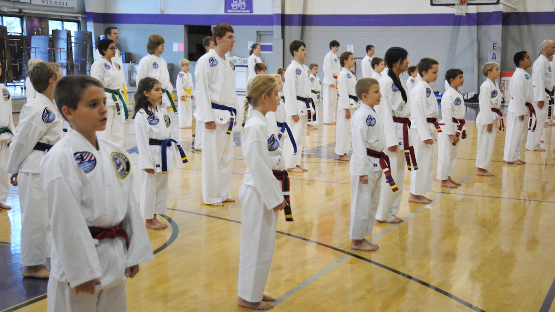Taekwondo Training For All Ages!