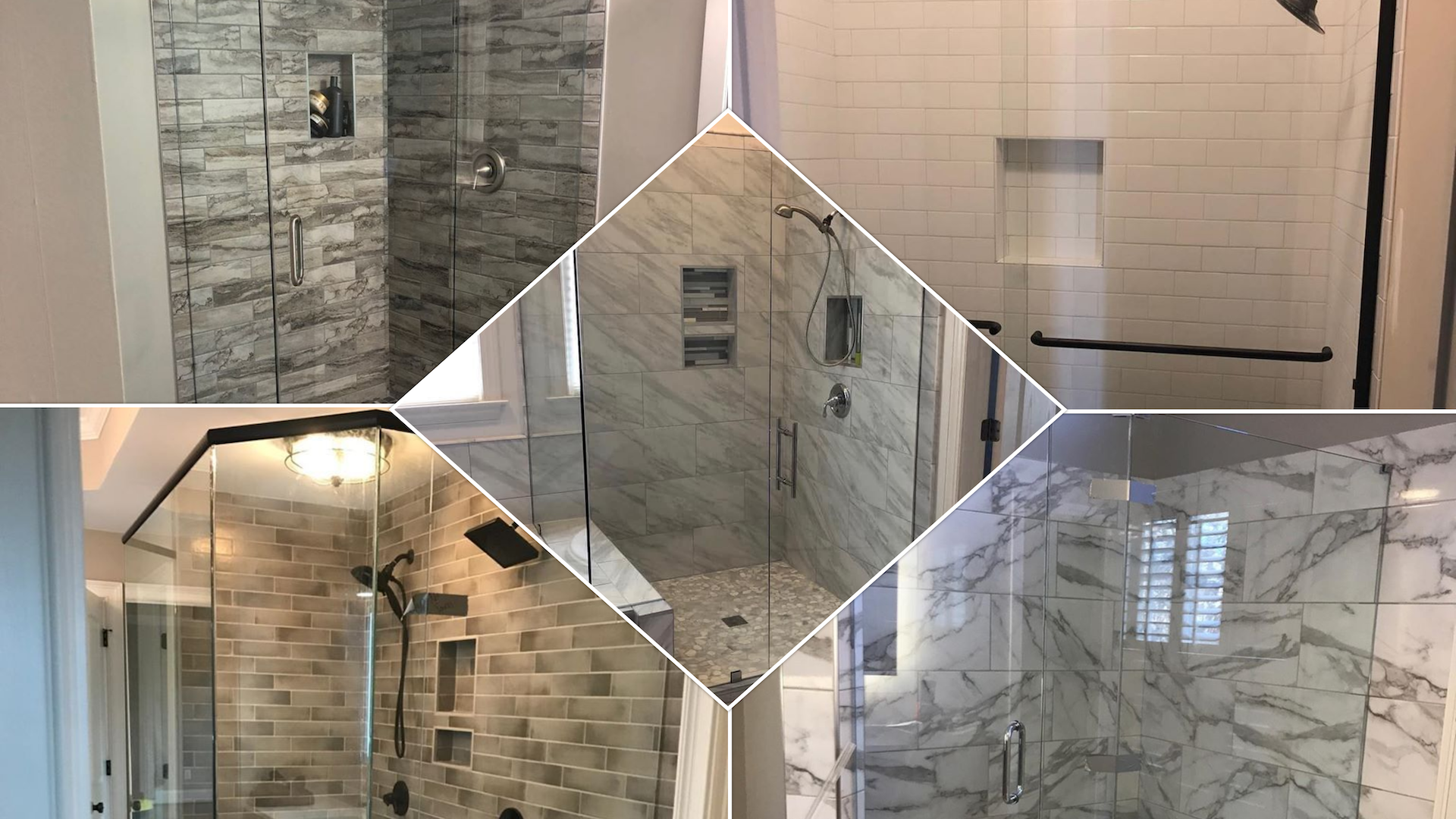 <style> v {   text-shadow: 2px 2px 8px #1e2a55; } </style><strong><v>Frameless and Framed Shower Doors - Mirrors - Glass Replacement</v></strong>