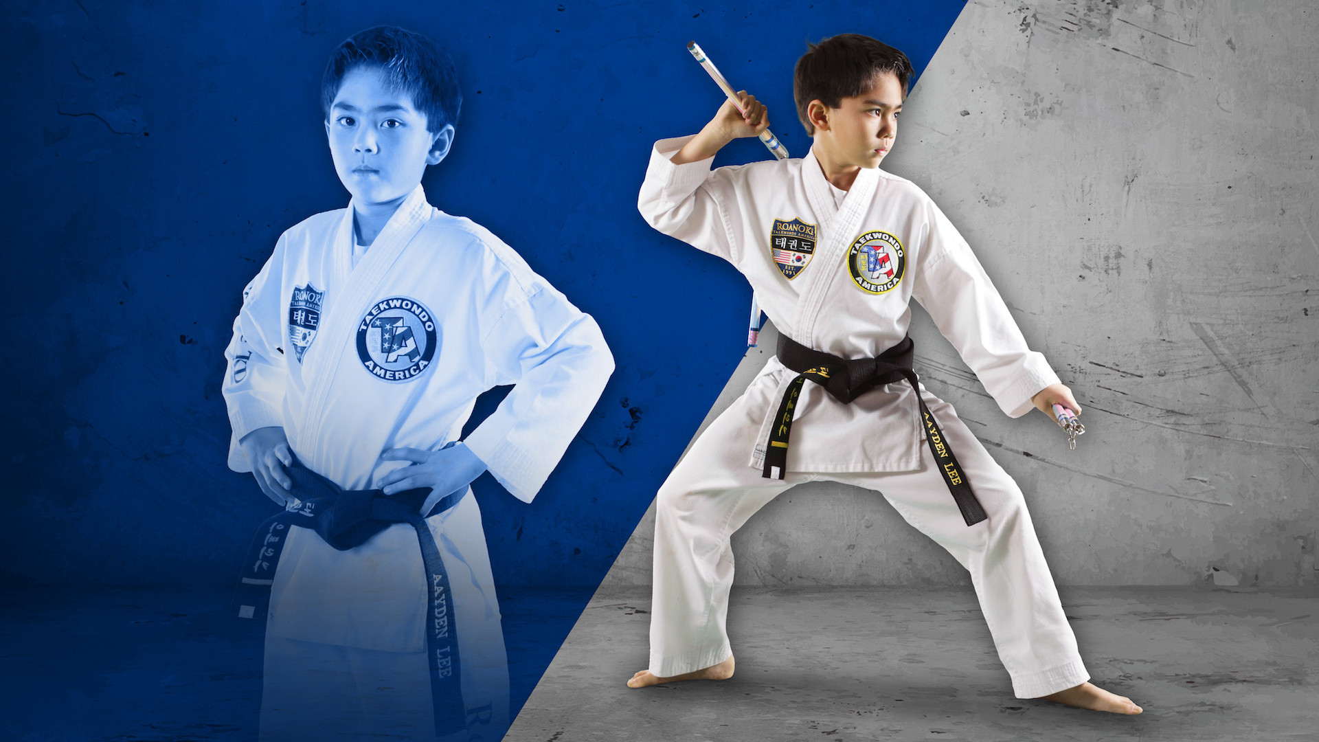 "<span style=""color:#ffffff;"">Learn Taekwondo in a Fun and Safe Environment!</span>"