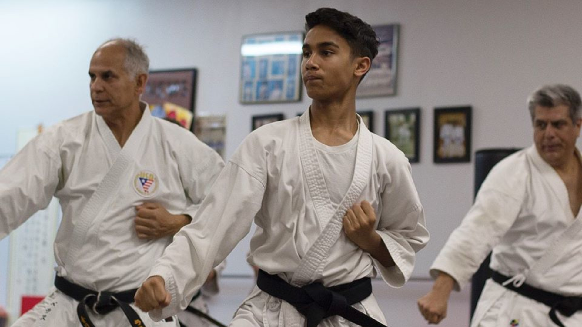 <style> v {   text-shadow: 2px 2px 8px #1e2a55; } </style><v><strong>Karate - Tai Chi - BJJ - Private Training</strong></v>