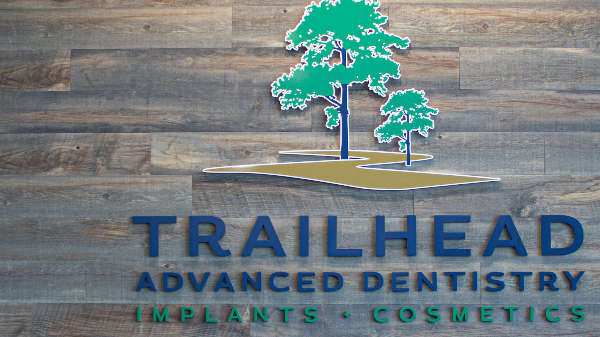 """<style> v {   text-shadow: 2px 2px 8px #1d4664; } </style><span style=""""color:white""""><v>Visit Trailhead Advanced Dentistry for All Your Dental Needs</v></span>"""