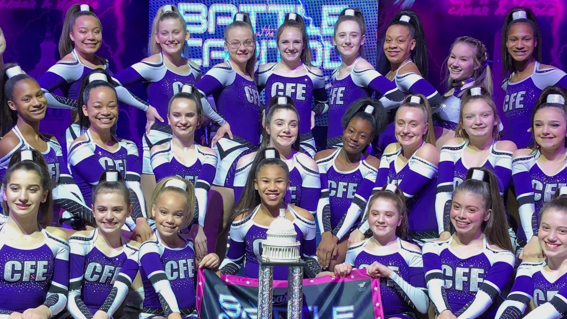 <style> v {   text-shadow: 2px 2px 8px #1e2a55; } </style><v><strong>Cheer Force Elite: Building a Legacy, One Champion at a Time</strong></v>