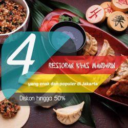 4 Restoran Makanan Khas Mandarin Paling Enak Dan Populer Di Jakarta dengan diskon hingga 50%1