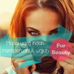 Fur Beauty Mata yang indah dapat mempercantik wajah