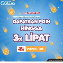 Promo DisTime - Juni Challenge