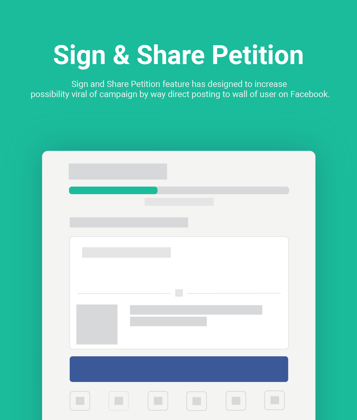 petition intro sign