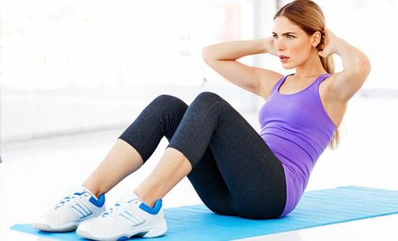 Sit Up - Olahraga di Rumah