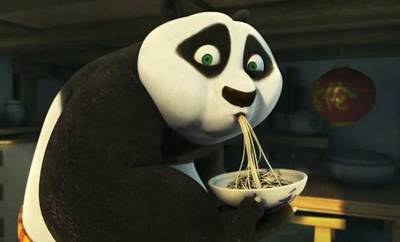 Makanan Favorit Tokoh Kartun - Po KungFu Panda
