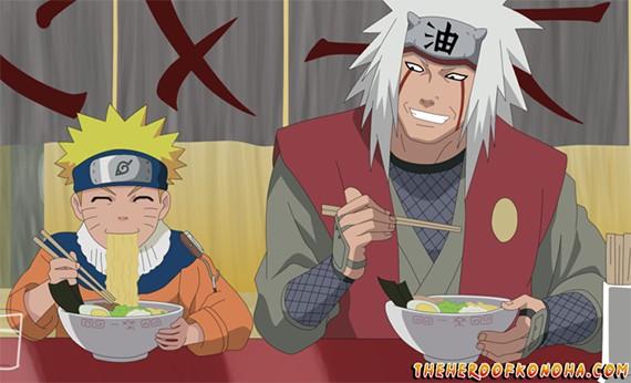 Makanan Favorit Tokoh Kartun - Naruto
