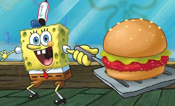 Makanan Favorit Tokoh Kartun - SpongeBob Squarepants