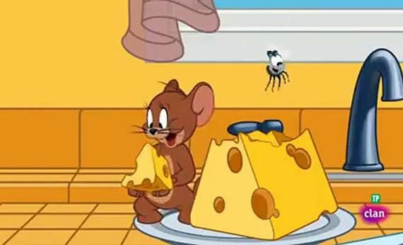 Makanan Favorit Tokoh Kartun - Jerry
