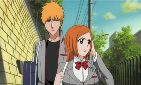 Ichigo & Inoue - Pasangan Romantis di Anime Terpopuler
