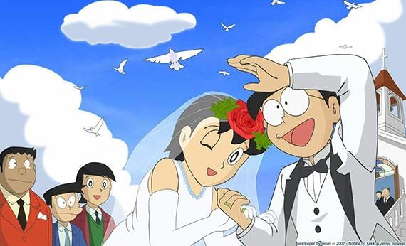 Nobita Nobi & Shizuka Minamoto - Pasangan Romantis di Anime Terpopuler
