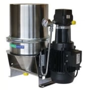 Filter & water separator w/suction pump, 100-120 l/hr,