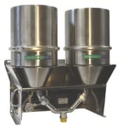 Filter & water separator w/suction pump, 180-240 l/hr