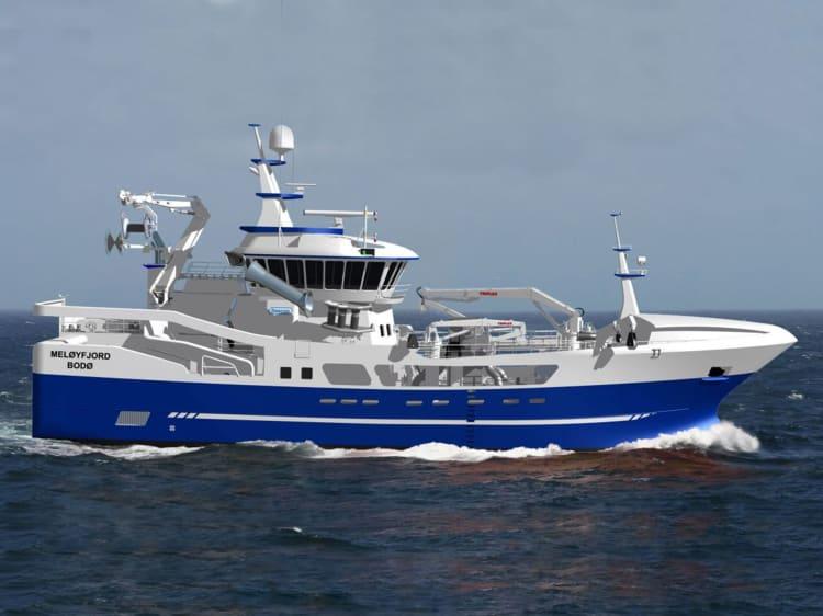GreenOil leveranse til Meløyfjord