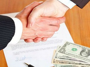 Рассписка в получении залога за покупку домовладения