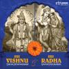 Image of Sri Vishnu Sahasranamam and Sri Radha Sahasranama