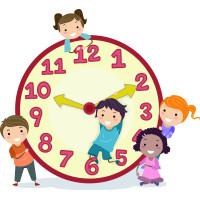 What Time is Lunch? ~ A que hora es al almuerzo?