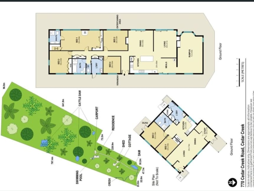 Floor Plan for By the Creek