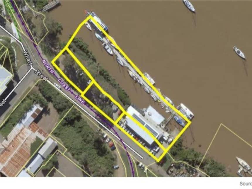 Floor Plan for The Wharf Maryborough