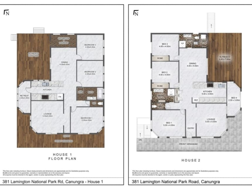 Floor Plan for Pearl of Contentment Free Hold